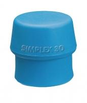 Einsatz für Simplex-Schonhammer Ø60mm Blau