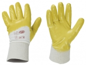 "StrongHand | Nitril-Handschuhe ""Gelbstar"""