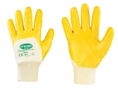 StrongHand Nitril-Handschuhe Yellowstar