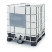 IBC Container mit Kunststoffpalette