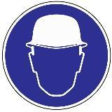 Folie Kopfschutz benutzen