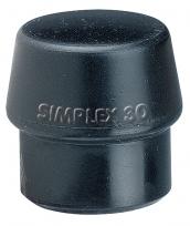 Einsatz für Simplex-Schonhammer Ø60mm Schwarz