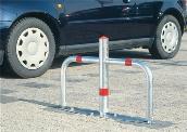 Parkplatzsperrbügel